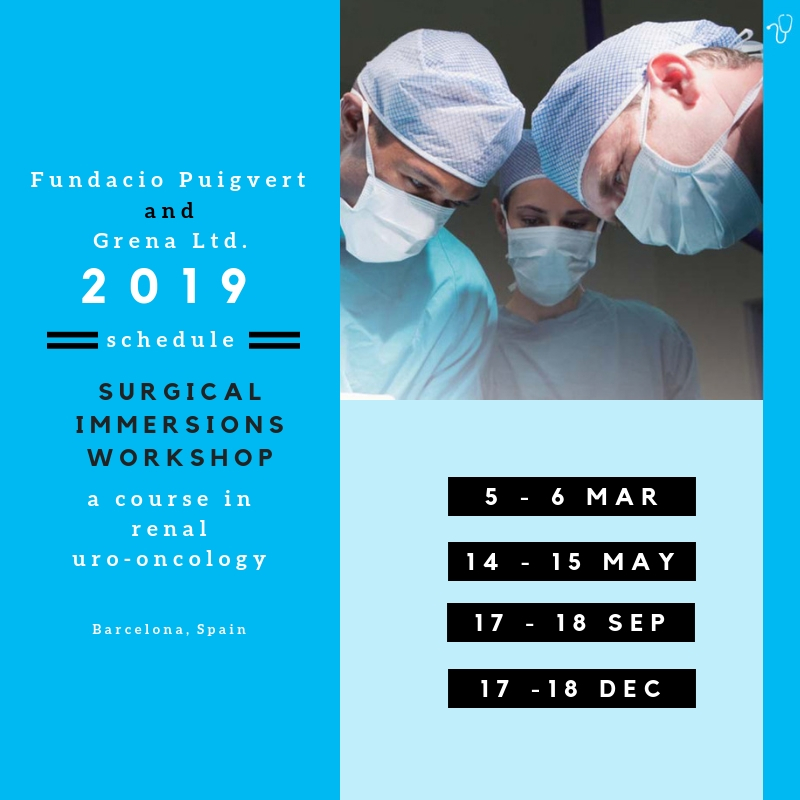 Surgical Immersions Workshop in Barcelona 2019 with cooperation of Grena Ltd.